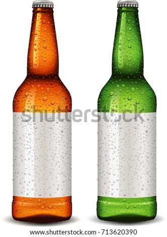 bottle blank package design for
