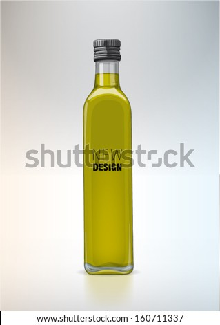 Bottle for new design Olive oil