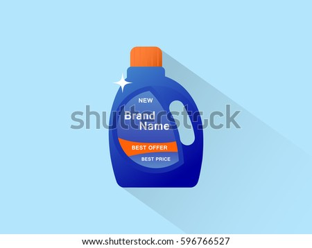 bottle of cleaning product icon