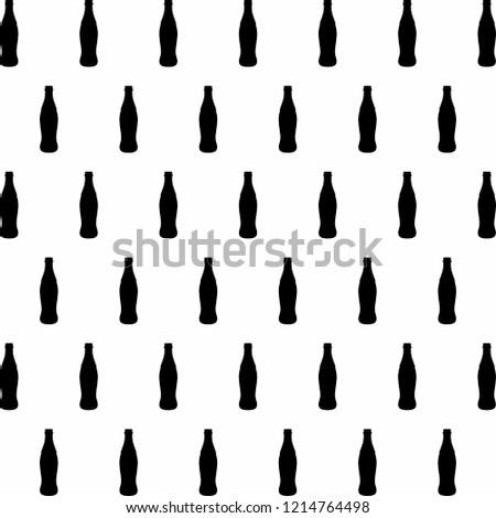 bottle pattern illustration