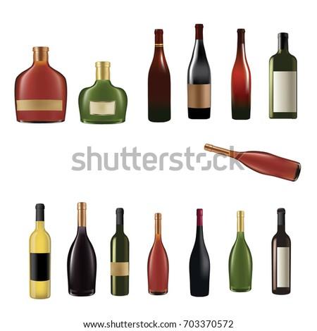Bottles made of mesh #703370572