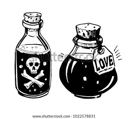 poison bottle vectors download free vector art stock graphics