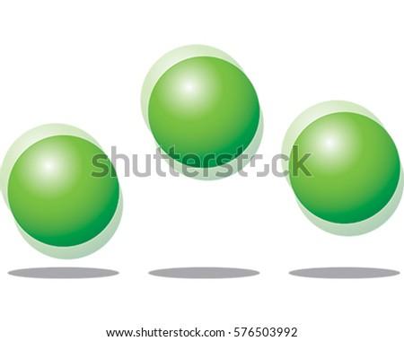 bouncing balls vector