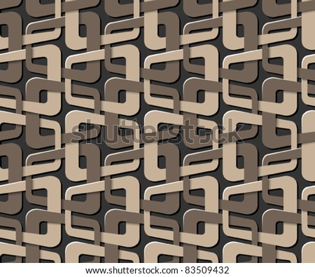 bound seamless pattern