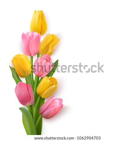 bouquet of yellow and pinkl