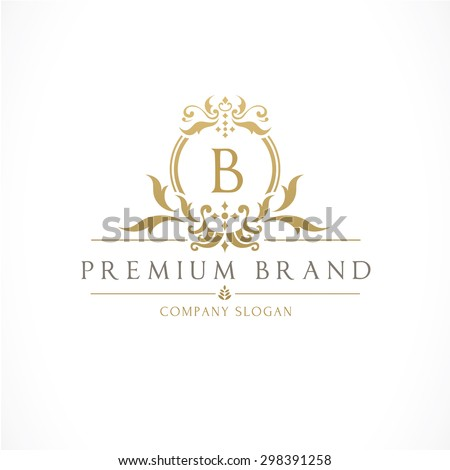 Boutique brand crests logo b letter logo crown king hotel for Best boutique hotel brands
