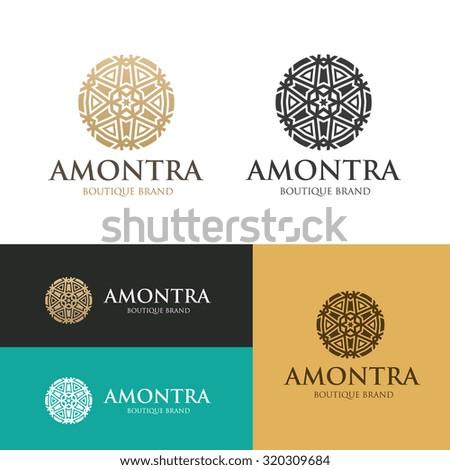 Boutique hotel logo,Hotel Logo,Vector logo template