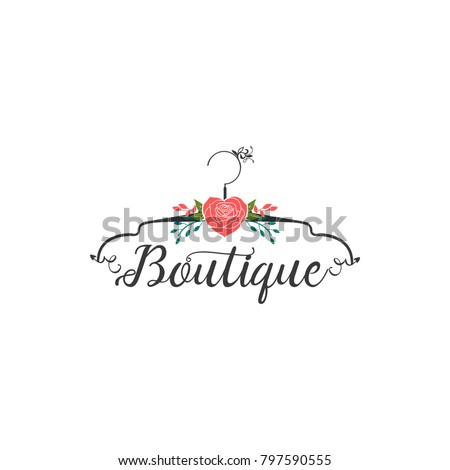 Shutterstock Boutique logo Design