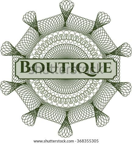 Boutique money style rosette
