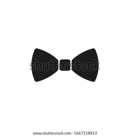 Bow tie icon. Vector illustration. Isolated.