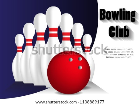 bowling lane template vector download free vector art stock
