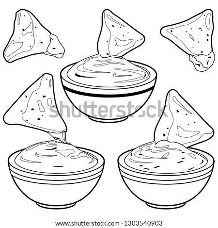 Nacho Cheese Popular Royalty Free Vectors