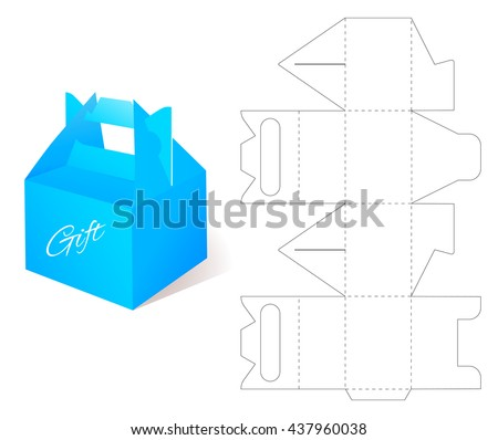 die cut boxes download free vector art stock graphics images