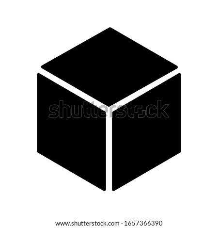 box icon on white background