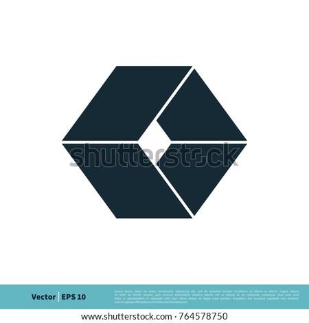 Box Icon Vector Logo Template