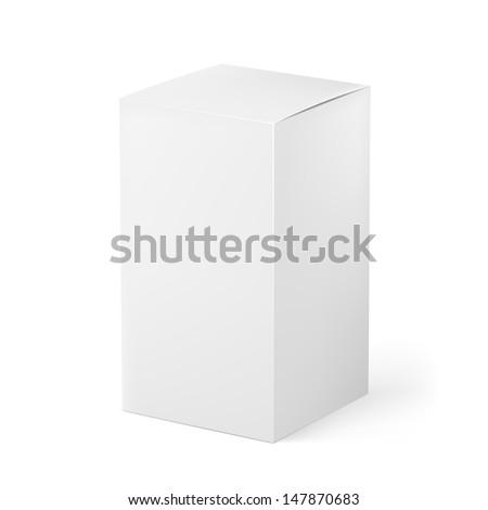 Box. Illustration on white background for creative design
