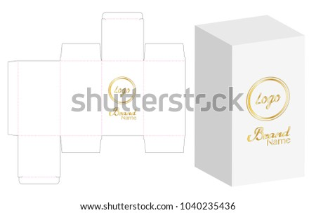 Die Cut Boxes - Download Free Vector Art, Stock Graphics & Images