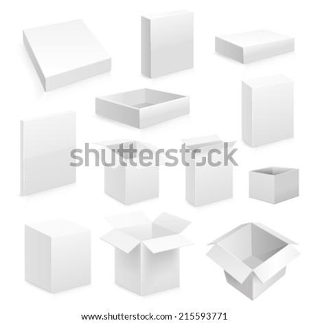 Box set. Vector Web #215593771