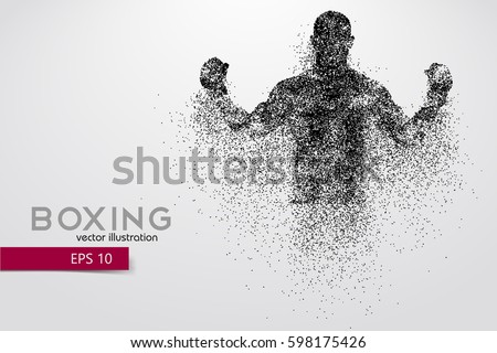 box silhouette background and