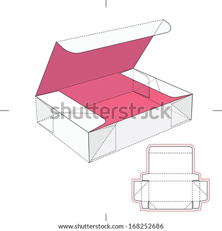 royalty free vector illustration of gift craft box 328809779 stock