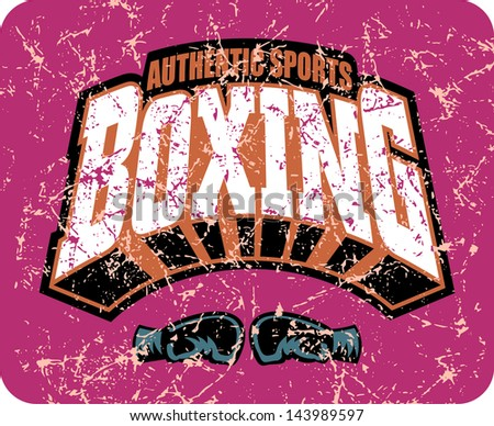 boxing authentic sports