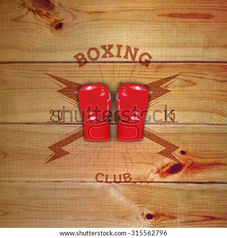 boxing badges logos and labels