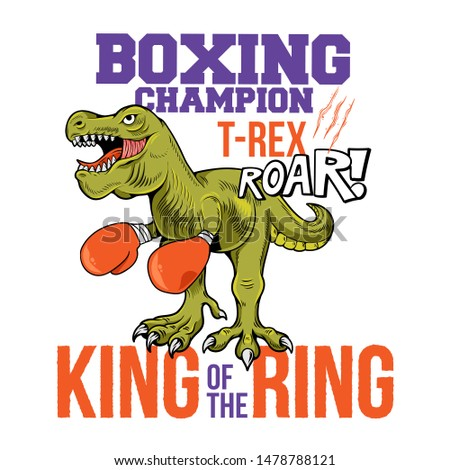 boxing champion t rex