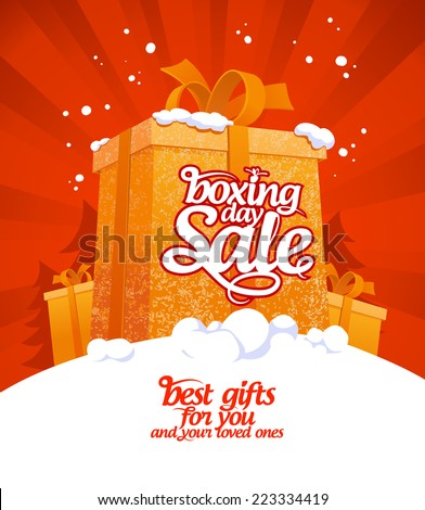 boxing day sale design