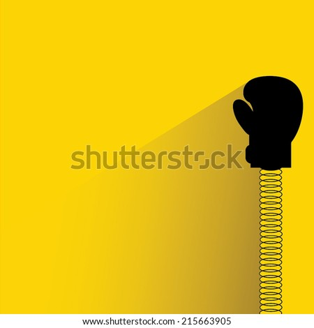 boxing glove pop up with spring
