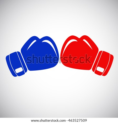 Boxing gloves Zdjęcia stock ©