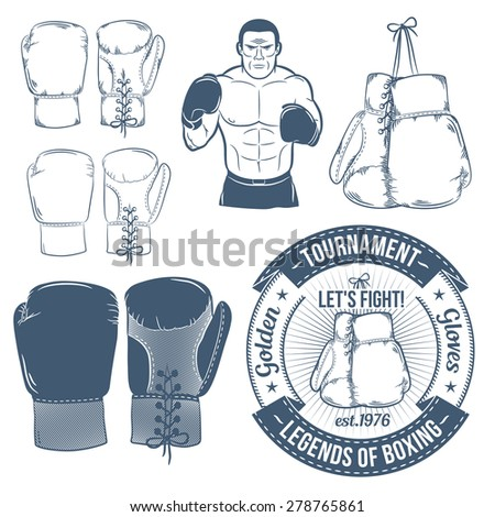 boxing gloves  boxer  boxing