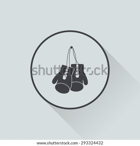 boxing gloves icon boxing