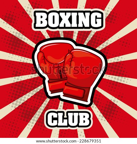 boxing graphic design   vector
