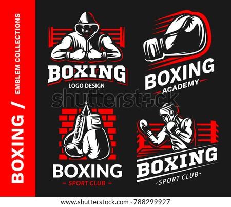 boxing club logo download free vector art stock graphics images rh vecteezy com boxing logo maker boxing logo shirts