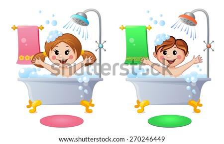 Boys Tub Images