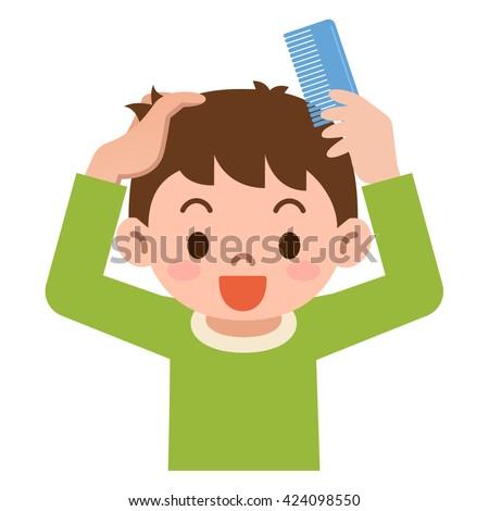 Hair Brushing Stock Illustrations – 619 Hair Brushing Stock Illustrations,  Vectors & Clipart - Dreamstime