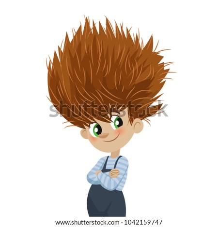 boy crazy hair style