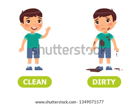 Boy is joyful, boy is sad.