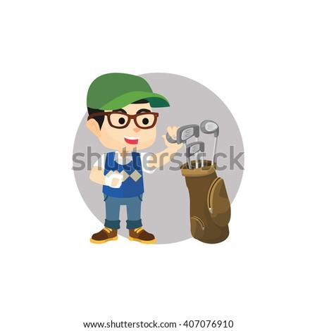 e8b79162 Retro Accountant with Green Visor at… Stock Photo 182836634 - Avopix.com