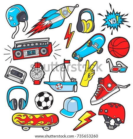 Boy's vector patches