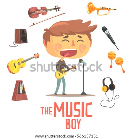 boy singer and musician  kids