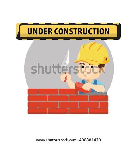 boy using construction worker