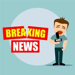 Boys cartoon character - breaking news