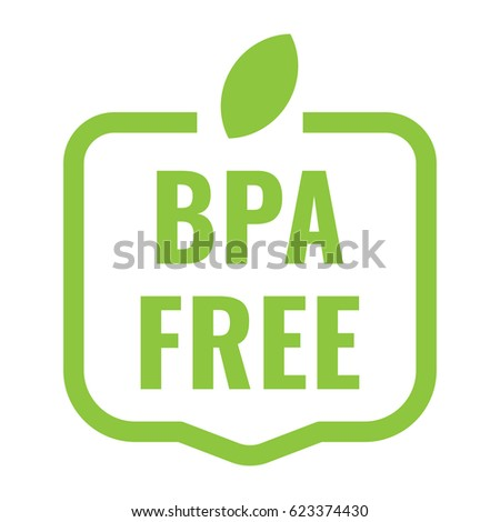 bpa free badge  logo  icon