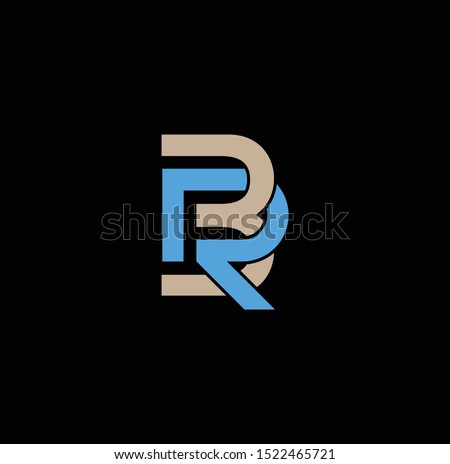 br letter design for logos and