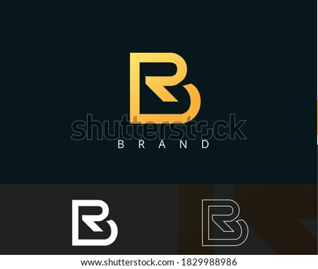 br r rb logo b and rb modern