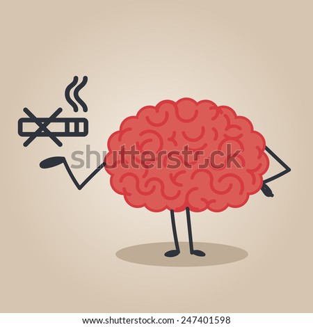 brain character   no smoking