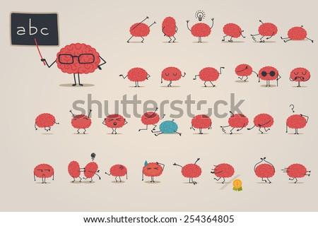 Brain character set