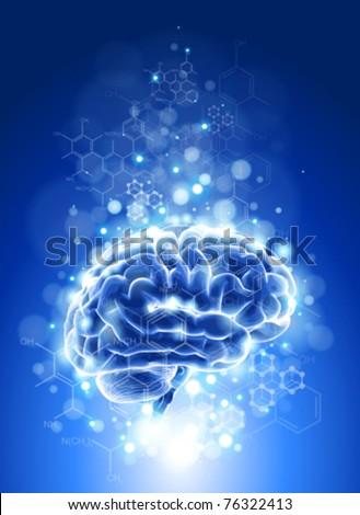 brain  chemical formulas