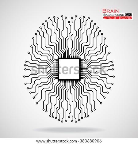 brain cpu circuit board
